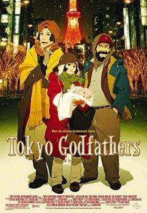 Phim Tokyo Godfathers - Một Đêm Tuyết Trắng