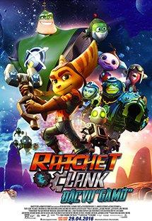 Phim Ratchet And Clank - Đặc Vụ Gà Mờ